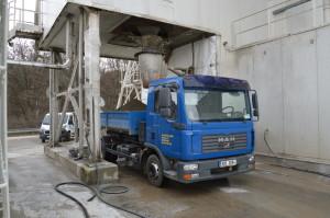 Nakládka betonové směsi