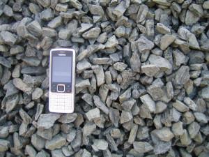 Drcené kamenivo 8,16 - štěrk
